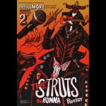 The Struts New Fillmore Poster F1443