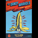 The Dandy Warhols New Fillmore F1452 Poster