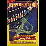 Jefferson Starship New Fillmore Poster F147