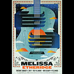 Melissa Etheridge New Fillmore Poster F1505
