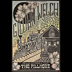 Gillian Welch New Fillmore Poster F1508