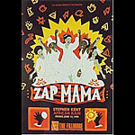 Zap Mama 1994 Fillmore F151 Poster