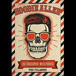 Hoodie Allen 2017 Fillmore F1522 Poster