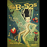 The B-52s New Fillmore Poster F1524