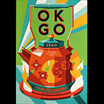 OK Go New Fillmore Poster F1526