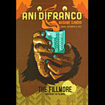 Ani DiFranco New Fillmore Poster F1531