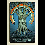 Chris Robinson Brotherhood New Fillmore Poster F1542