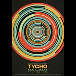 Tycho 2017 Fillmore F1544 Poster