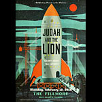 Judah and the Lion New Fillmore Poster F1550