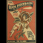 Dan Auerbach (Black Keys) New Fillmore Poster F1551