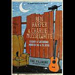 Ben Harper New Fillmore Poster F1567