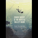 Conor Oberst and the Mystic Valley Band New Fillmore F1599 Poster