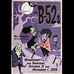 The B-52s 2018 Fillmore F1609 Poster
