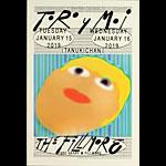 Toro y Moi New Fillmore F1618 Poster