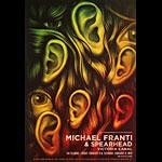 Michael Franti and Spearhead  Fillmore F1623 Poster
