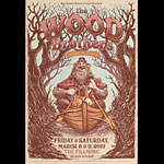 The Wood Brothers New Fillmore Poster F1628