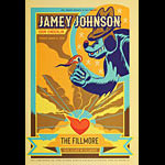 Jamey Johnson New Fillmore Poster F1629