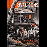 Rival Sons New Fillmore Poster F1641