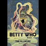 Betty Who New Fillmore Poster F1642