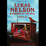 Lukas Nelson and Promise of the Real New Fillmore Poster F1644