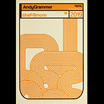 Andy Grammer New Fillmore F1650 Poster
