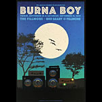 Burna Boy  Fillmore F1655 Poster