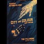 City and Colour  Fillmore F1659 Poster