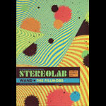 Stereolab New Fillmore F1661A Poster