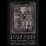 Peter Hook and the Light  Fillmore F1668 Poster