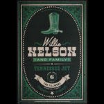 Willie Nelson  Fillmore F1678A Poster