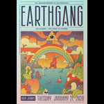 Earthgang  Fillmore F1680 Poster
