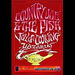 Country Joe & The Fish New Fillmore F172 Poster