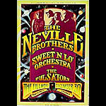 The Neville Brothers New Fillmore Poster F173