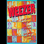 Weezer New Fillmore Poster F180