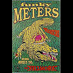 Funky Meters New Fillmore Poster F181