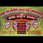 Emmylou Harris And The Hot Band New Fillmore F182 Poster - signed