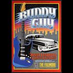 Buddy Guy 1995 Fillmore F183 Poster