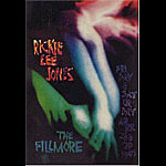 Rickie Lee Jones New Fillmore Poster F186