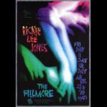 Rickie Lee Jones New Fillmore F186 Poster