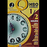 Hbo Comedy 1/2 Hours Hosted By Alex Bennett 1995 Fillmore F191 Poster