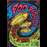 Foo Fighters New Fillmore Poster F195