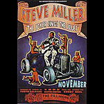 The Steve Miller Blues Band New Fillmore F202 Poster