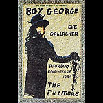 Boy George New Fillmore Poster F203