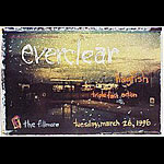 Everclear New Fillmore Poster F211
