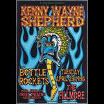 Kenny Wayne Sheperd New Fillmore F217 Poster