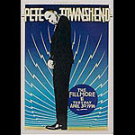 Pete Townshend New Fillmore F219 Poster - signed