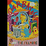 Garbage New Fillmore F221 Poster