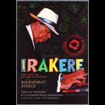 Irakere (Chu Chu Valdez) 1996 Fillmore F229 Poster