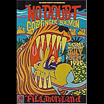No Doubt New Fillmore Poster F231