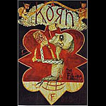 Korn New Fillmore Poster F241